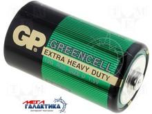 Батарейка GP D Greencell Extra Heavy Duty  1.5V Carbon-Zinc (Солевая) (13G-U2)