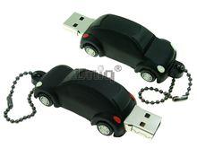 Флешка Uniq USB 2.0 AUTO Автомобиль черный Резина 4GB (04C17314U2)