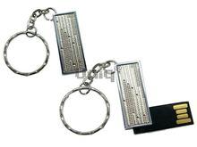 Флешка Uniq USB 2.0 ПИЖОН Золотой Дождик серебро 4GB (04C17323U2)