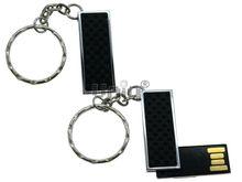 Флешка Uniq USB 2.0 ПИЖОН Карбон черный / серебро плетенка 4GB (04C17325U2)