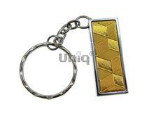 Флешка Uniq USB 2.0 ФАКТУРА НИТИ Гладь Золото 4GB (04C17326U2)