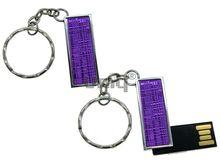 Флешка Uniq USB 2.0 ФАКТУРА НИТИ Фиолетовая 4GB (04C17327U2)