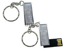 Флешка Uniq USB 2.0 ФАКТУРА НИТИ Серебро 4GB (04C17328U2)