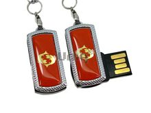 Флешка Uniq USB 2.0 ZODIAK MINI Рыбы оранжевый (Pisces) 4GB (04C17332U2)
