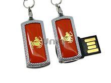 Флешка Uniq USB 2.0 ZODIAK MINI Стрелец оранжевый (Sagittarius) 4GB (04C17333U2)
