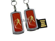 Флешка Uniq USB 2.0 ZODIAK MINI Весы оранжевый (Libra) [металл, пластик] 4GB (04C17335U2)