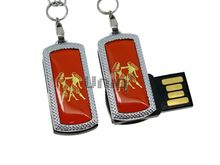 Флешка Uniq USB 2.0 ZODIAK MINI Близнецы оранжевый (Gemini) 4GB (04C17336U2)
