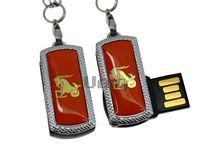 Флешка Uniq USB 2.0 ZODIAK MINI Козерог оранжевый (Capricorn) [металл, пластик] 4GB (04C17337U2)
