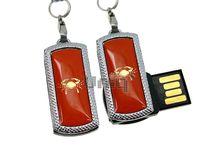 Флешка Uniq USB 2.0 ZODIAK MINI Рак оранжевый (Cancer) [металл, пластик] 4GB (04C17338U2)