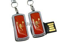 Флешка Uniq USB 2.0 ZODIAK MINI Скорпион оранжевый (Scorpio) 4GB (04C17339U2)
