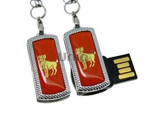 Флешка Uniq USB 2.0 ZODIAK MINI Овен оранжевый (Aries) 4GB (04C17341U2)