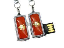 Флешка Uniq USB 2.0 ZODIAK MINI Телец оранжевый (Taurus) 4GB (04C17342U2)
