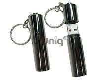 Флешка Uniq USB 2.0 БАТАРЕЙКА под logo титан [металл] 4GB (04C17362U2)