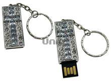 Флешка Uniq USB 2.0 КРЕСТ Витраж Серебро / Белый 4GB (04C17393U2)