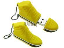 Флешка Uniq USB 2.0 КЕД желтый 4GB (04C17424U2)