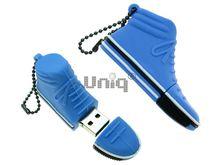 Флешка Uniq USB 2.0 КЕД голубой 4GB (04C17425U2)