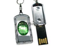 Флешка Uniq USB 2.0 СЕКРЕТ Изумруд зеленый 4GB (04C17443U2)