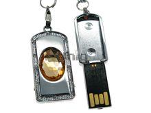 Флешка Uniq USB 2.0 СЕКРЕТ Цитрин желтый 4GB (04C17445U2)