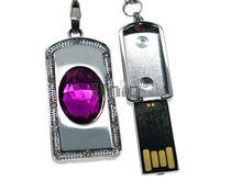 Флешка Uniq USB 2.0 СЕКРЕТ Аметист фиолетовый 4GB (04C17446U2)