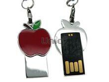 Флешка Uniq USB 2.0 SLIM Яблоко Красное 4GB (04C17456U2)