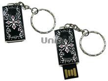 Флешка Uniq USB 2.0 ПАННО Сталь Персидский Крест 4GB (04C17458U2)