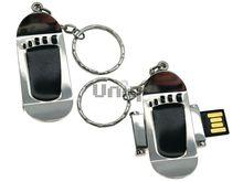 Флешка Uniq USB 2.0 СКЕЙT поворотный, след черный 4GB (04C17472U2)