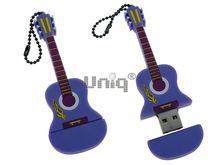 Флешка Uniq USB 2.0 ГИТАРА Акустическая фиолетовая 4GB (04C17549U2)