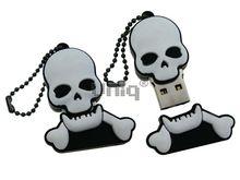 Флешка Uniq USB 2.0 HELLOWEEN ПИРАТСКАЯ СИМВОЛИКА Резина 4GB (04C17558U2)