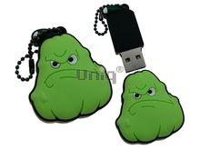 Флешка Uniq USB 2.0 ГЕРОИ Plants vs. Zombies Кабачок 4GB (04C17611U2)