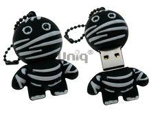 Флешка Uniq USB 2.0 МУМИЯ черный Резина 4GB (04C17616U2)