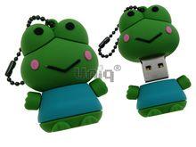 Флешка Uniq USB 2.0 ЛЯГУШКА-КВАКУШКА 4GB (04C17740U2)