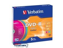 Диск DVD-R Verbatim  4.7GB 16x