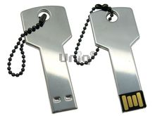 Флешка Uniq USB 2.0 КЛЮЧ Дверной серебро [металл] 4GB (04C17774U2)