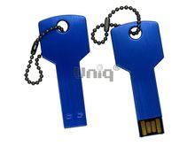 Флешка Uniq USB 2.0 КЛЮЧ Дверной синий [металл] 4GB (04C17778U2)