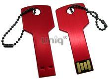 Флешка Uniq USB 2.0 КЛЮЧ Дверной красный [металл] 4GB (04C17783U2)