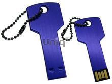 Флешка Uniq USB 2.0 КЛЮЧ Дверной фиолетовый [металл] 4GB (04C17784U2)
