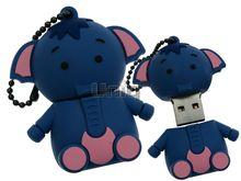 Флешка Uniq USB 2.0 СЛОНЕНОК синий 4GB (04C17785U2)