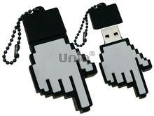 Флешка Uniq USB 2.0 ПАЛЬЦЫ УКАЗАТЕЛЬ Резина 4GB (04C17789U2)