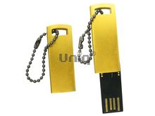 Флешка Uniq USB 2.0 КОРПОРАТИВНЫЙ ДУХ золото [металл] 4GB (04C17803U2)
