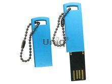 Флешка Uniq USB 2.0 КОРПОРАТИВНЫЙ ДУХ синий [металл] 4GB (04C17806U2)