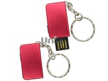 Флешка Uniq USB 2.0 ОФИС КНИЖКА металл, красный, выдвижная 4GB (04C17817U2)