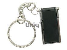 Флешка Uniq USB 2.0 ОФИС ОРГАНАЙЗЕР серебро/черный, металл + пластик, складная 4GB (04C17878U2)