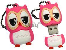 Флешка Uniq USB 2.0 СОВА розовая 4GB (04C17895U2)