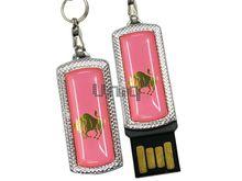 Флешка Uniq USB 2.0 ZODIAK MINI Телец светло- розовый (Taurus) [металл, пластик] 4GB (04C17918U2)