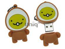 Флешка Uniq USB 2.0 ЭСКИМОС улыбающийся Резина 4GB (04C17930U2)