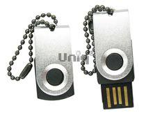 Флешка Uniq USB 2.0 ОФИС микро, серебро 4GB (04C17935U2)