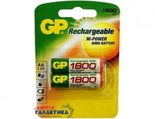Аккумулятор GP AA  NiMh 1800 mAh 1.2V  (180AAHC-U2)