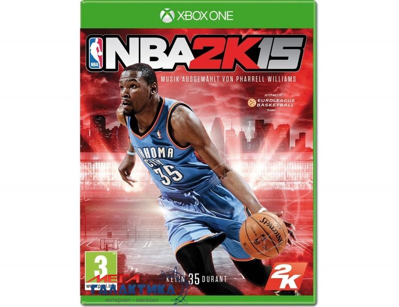 Игра NBA 2K15  (Xbox One, английская версия) Фото товара №1