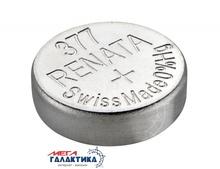 Батарейка Renata 377 (Часовая) 26 mAh 1.55V Silver Oxide