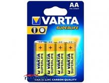 Батарейка Varta AA Superlife  1.5V Carbon-Zinc (02006101304)